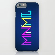 Minimal Type (Colorful Edm) Typography - Design iPhone 6s Slim Case