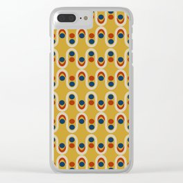 Steve Dots Circus Clear iPhone Case