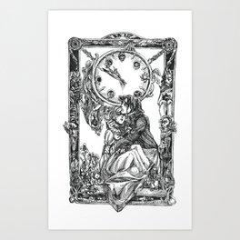 Inktober 2018: Clock Art Print