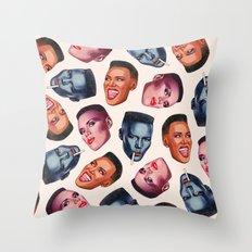 GJ Throw Pillow