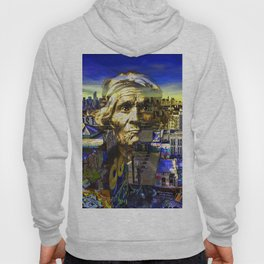 Ghost Tribe Native Americans in New York Yellow Hoody