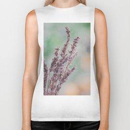 Lavender by the window Biker Tank