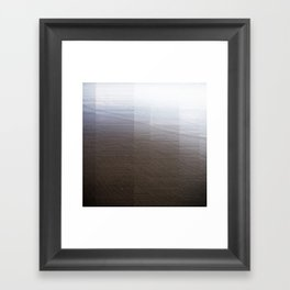 Black Sands I Framed Art Print