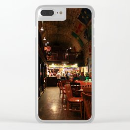 O'Malleys Pub Clear iPhone Case