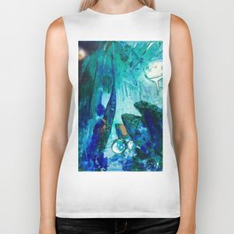 Bright Ocean Spaces, Tiny World Collection Biker Tank