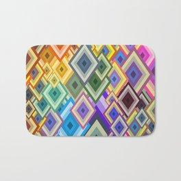 geometric colour Bath Mat