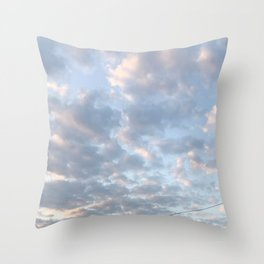 Butterfly in the Sky Throw Pillow