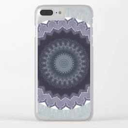 Some Other Mandala 444 Clear iPhone Case