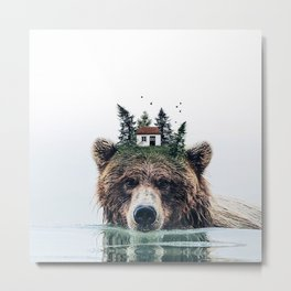 House Guardian Metal Print