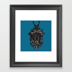 Clockwork.Colour Framed Art Print