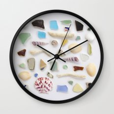 Ocean Study No. 2 Wall Clock