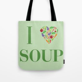 I heart Soup Tote Bag