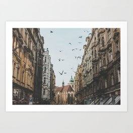 Prague, Czechia VI Art Print