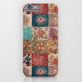 Gypsy Vintage Patchwork iPhone Case