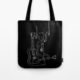 Resting Place - Digital Variant Tote Bag