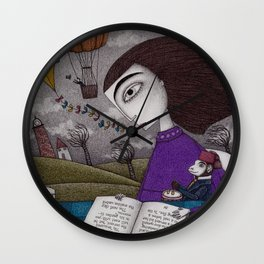 November Stories Wall Clock