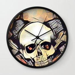 Love & death 2 Wall Clock