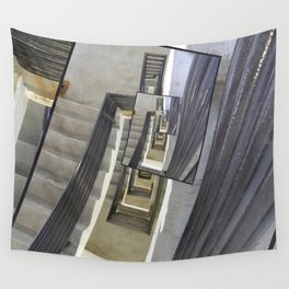 Well of Stairs Wall Tapestry