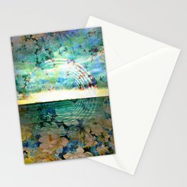 Floral Ocean Kaliedoscope Stationery Cards