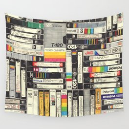 VHS I Wall Tapestry