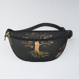 Whimsical Tree Pattern Fanny Pack