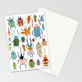 Woodland Beetles Stationery Cards