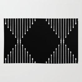 Geo / Black Rug