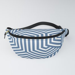 Queen pink - blue - Minimal Vector Seamless Pattern Fanny Pack
