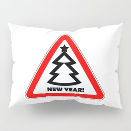 Attention, New Year! Pillow Sham