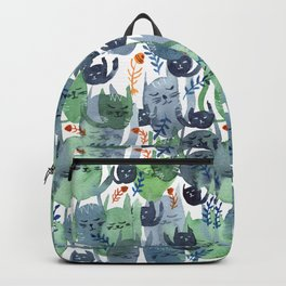 A Quiet Cacophony of Cats Backpack