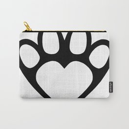 Paw prints on my hear Carry-All Pouch