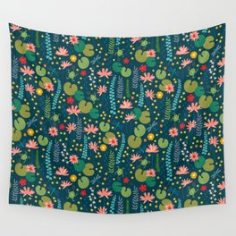 Lily Pad Wall Tapestry