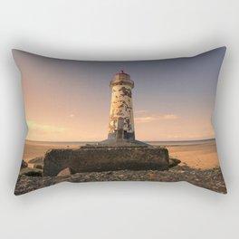 Talacre sunset Rectangular Pillow