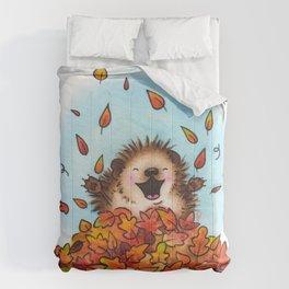 Fall Hedgie 2 Comforters