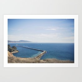 Dana Point Harbor Art Print