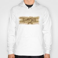 airplane Hoodies featuring Airplane by LaDa