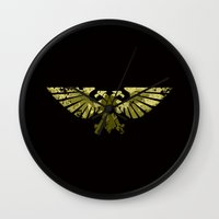 warhammer Wall Clocks featuring Astartes on the horizon by HenkusFilijokus