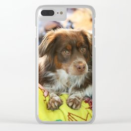 Beautiful Boy Clear iPhone Case