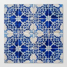 Portuguese Azulejos Canvas Print