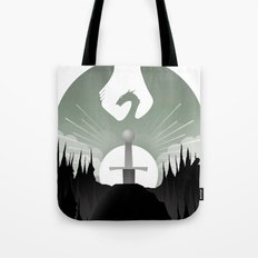 The Sword in the Stone Tote Bag