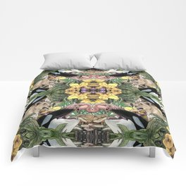 Wildlife Kaleidoscope Comforters
