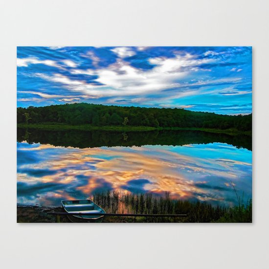 Evening Reflection Canvas Print