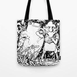 When Leprechauns Go Bad A Surly Drunken Clurichaun Tote Bag