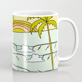 a frame dream home in paradise simple life by surfy birdy Coffee Mug