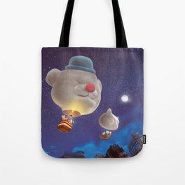 SmileDog Balloon Tote Bag