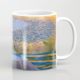 Beauty on Ice kayaking on McCloud Reservoir Coffee Mug