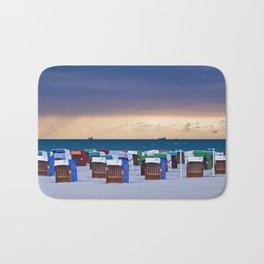 BEACH CHAIRS - Before the storm - BALTIC SEA Bath Mat