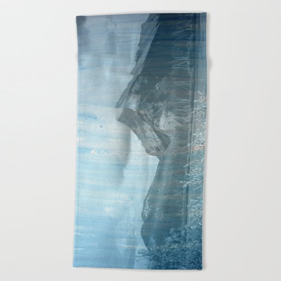 Blue Blue Skies Beach Towel