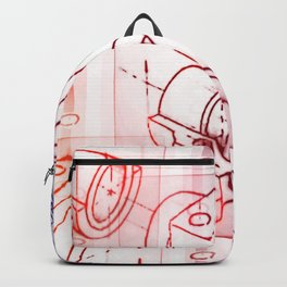 Technical Sketch Backpack