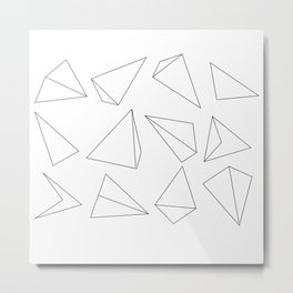Solid_01 Metal Print